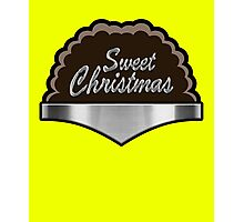 Sweet Christmas Bullet Proof Hero For Hire Super Hero  Photographic Print