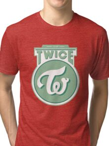 TWICE GREEN Tri-blend T-Shirt