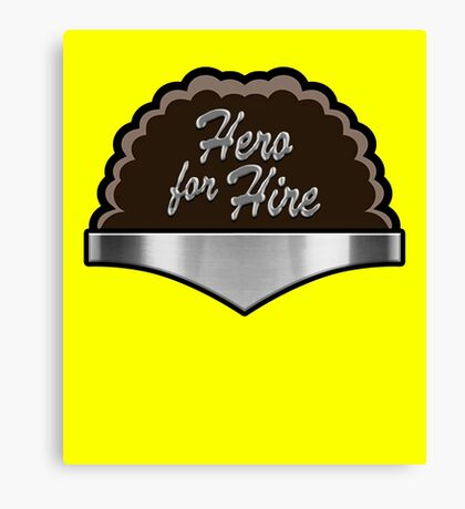 Hero For Hire Bullet Proof Power Man Sweet Christmas Canvas Print