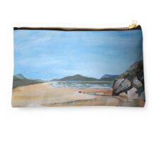 Sandy Beach and Rock Pool Studio Pouch