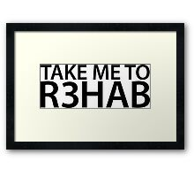 Take Me To R3hab Framed Print