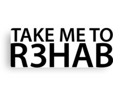 Take Me To R3hab Canvas Print