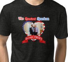 Joe Biden Barack Obama Greatest American Love Story Funny T-shirt  Tri-blend T-Shirt