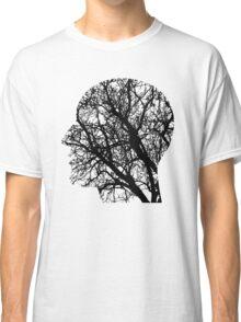Sad Tree Silhouette of a Man  Classic T-Shirt