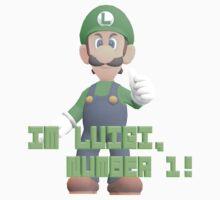Super Mario Bros. - Luigi Kids Tee