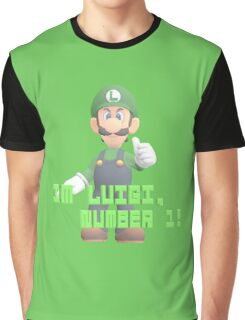 Super Mario Bros. - Luigi Graphic T-Shirt
