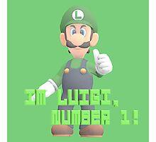 Super Mario Bros. - Luigi Photographic Print