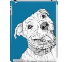 Staffordshire Bull Terrier Portrait iPad Case/Skin
