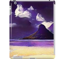 Abstract landscape, modern,trendy,beautiful,contemporary art iPad Case/Skin