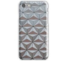 Abstract background made from triangles small iPhone Case/Skin