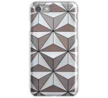 Abstract background made from triangles iPhone Case/Skin