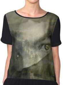 Mistress of the Moors (A collaboration with Celeste Mookherjee) Chiffon Top