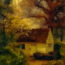 Spring House In The Spring by Lois  Bryan