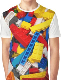 Lots of LEGO Blocks / Bricks Graphic T-Shirt