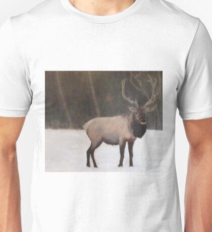 Winter Elk Unisex T-Shirt