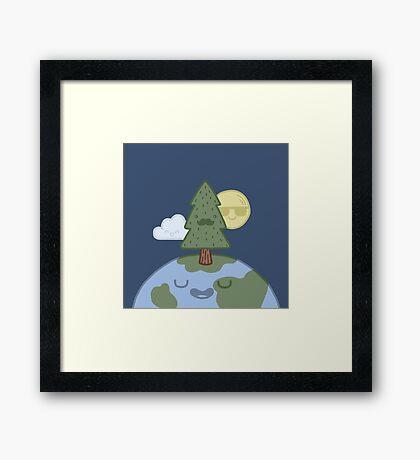 Dear Mother Earth Framed Print