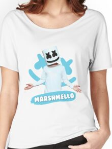 DJ Marshmello Women's Relaxed Fit T-Shirt
