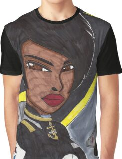 Space Fighter Pilot Graphic T-Shirt