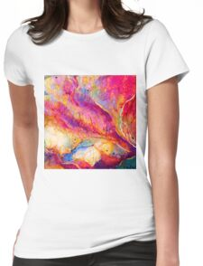 Spirit Fish Womens Fitted T-Shirt