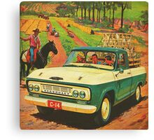 Pick Up Truck Chevrolet Canvas Print