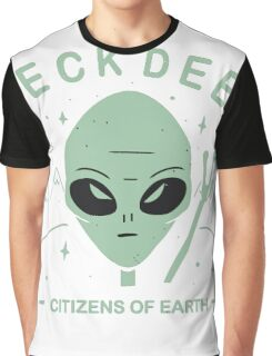 Neck Deep - Citizens of earth // green Graphic T-Shirt
