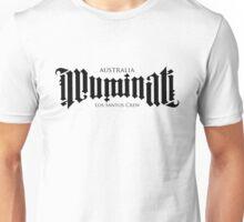 Combined Crew Ambigram - LIGHT Unisex T-Shirt