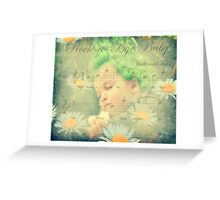 Even Baby Trolls need a nap :) Greeting Card