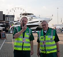Paramedico Ltd at the 46th  Southampton Boat Show 2014 by Keith Larby