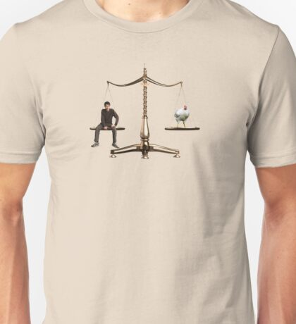 Animal Equality- Scale Unisex T-Shirt