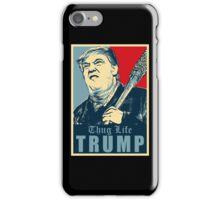 thug life trump iPhone Case/Skin