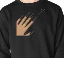 Nails Emoji (Black) Pullover