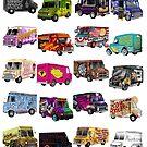 Food Trucks by Dyna Moe