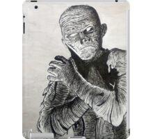 Creepy Mummy horror Halloween Art iPad Case/Skin