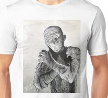 Creepy Mummy horror Halloween Art Unisex T-Shirt