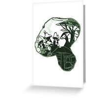 Mushroom Kingdom Greeting Card