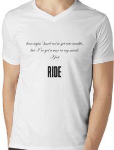 Ride-Lana Del Rey Mens V-Neck T-Shirt
