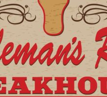 """""""Cattleman's Ranch Steakhouse"""" -  as seen on """"Fresh Off The Boat"""" Sticker"""