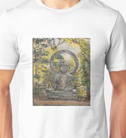 Buddha in San Francisco Unisex T-Shirt