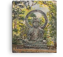 Buddha in San Francisco Canvas Print