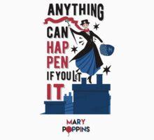 Mary Poppins Baby Tee