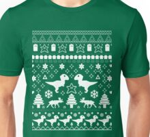 Geeky Christmas Sweater ver.green Unisex T-Shirt