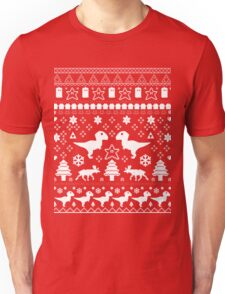 Geeky Christmas Sweater ver.red Unisex T-Shirt