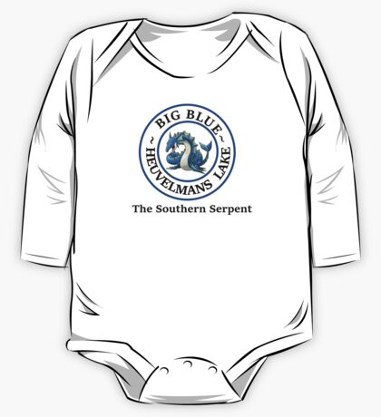 Big Blue, the Southern Serpent One Piece - Long Sleeve