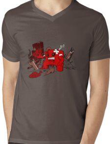 Lets Meat the Foetus Mens V-Neck T-Shirt