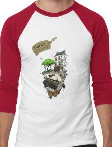 Sample of Paris Men's Baseball ¾ T-Shirt