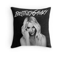 Britney Galaxy Throw Pillow