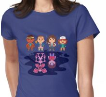 Upside Down World Womens Fitted T-Shirt