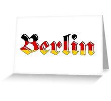 Simplistic Berlin Greeting Card