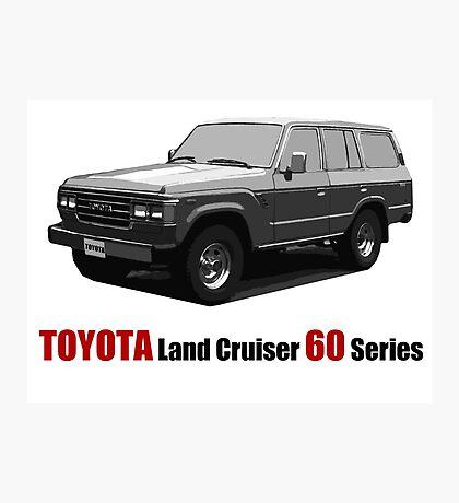 TOYOTA Land Cruiser 60 Series Photographic Print