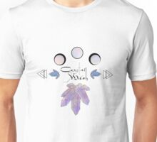 Crystal Witch Unisex T-Shirt